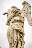 Άγγελος Bernini στο ponte Sant ` Angelo στη Ρώμη Στοκ φωτογραφία με δικαίωμα ελεύθερης χρήσης