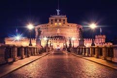 Άγγελος Castle Ρώμη του ST Στοκ Εικόνες