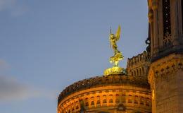 Άγγελος Gardian της Λυών, Γαλλία Στοκ Φωτογραφία