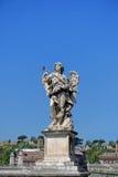 Άγγελος ponte castel sant Angelo Στοκ εικόνα με δικαίωμα ελεύθερης χρήσης