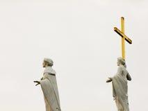 Άγιοι που κοιτάζουν στον ουρανό Στοκ εικόνα με δικαίωμα ελεύθερης χρήσης