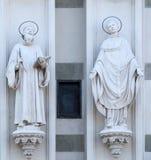 Άγιοι Bernard Clairvaux και του Gregory ο μεγάλος Στοκ εικόνα με δικαίωμα ελεύθερης χρήσης