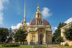 Άγιοι Peter και καθεδρικός ναός του Paul, Άγιος Πετρούπολη, Ρωσία Στοκ εικόνες με δικαίωμα ελεύθερης χρήσης