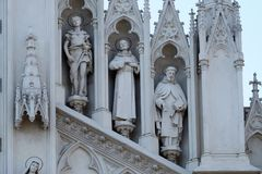 Άγιοι Victor, Francis Assisi και Nicholas Tolentino Στοκ φωτογραφίες με δικαίωμα ελεύθερης χρήσης
