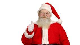 Άγιος Βασίλης απομόνωσε, αντίχειρες επάνω φιλμ μικρού μήκους