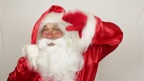 Άγιος Βασίλης καλωσορίζει απόθεμα βίντεο