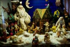 Άγιος Βασίλης του παλαιού έτους παιχνιδιών νέου έκανε στη Σοβιετική Ένωση στοκ εικόνες