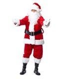 Άγιος Βασίλης απομόνωσε στο λευκό. στοκ φωτογραφία