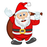 Άγιος Βασίλης για τη διανυσματική απεικόνιση σχεδίου σας Στοκ Φωτογραφίες