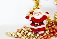 Άγιος Βασίλης και ζωηρόχρωμες χάντρες στοκ φωτογραφία με δικαίωμα ελεύθερης χρήσης