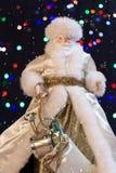 Άγιος Βασίλης με το χιόνι στοκ φωτογραφία με δικαίωμα ελεύθερης χρήσης