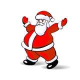 Άγιος Βασίλης στο λευκό. Διάνυσμα ελεύθερη απεικόνιση δικαιώματος