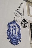 Άγιος βερνίκωσε το κεραμίδι Στοκ Εικόνες
