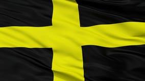 Άγιος Δαβίδ City Flag, UK, άποψη κινηματογραφήσεων σε πρώτο πλάνο απεικόνιση αποθεμάτων