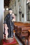 Άγιος και παιδιά Στοκ εικόνα με δικαίωμα ελεύθερης χρήσης