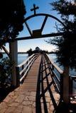 Άγιος Νικόλαος Monastery. Περιοχή του Πόρτο Λάγκος στη Θράκη, Ελλάδα. Στοκ Εικόνες
