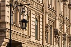 Άγιος-Πετρούπολη Οδός lampon το υπόβαθρο Στοκ Εικόνες
