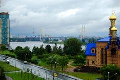 Άγιος-Πετρούπολη Ρωσία 31 άποψη γεφυρών 07 2018 Στοκ φωτογραφία με δικαίωμα ελεύθερης χρήσης