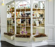 Άγιος-Πετρούπολη Ρωσία 06 10 2018 καταστήματα των αναμνηστικών και των δώρων Στοκ εικόνες με δικαίωμα ελεύθερης χρήσης
