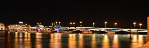 Άγιος Πετρούπολη, Annunciation γέφυρα Στοκ φωτογραφία με δικαίωμα ελεύθερης χρήσης