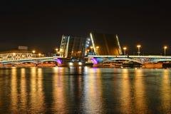 Άγιος Πετρούπολη, Annunciation γέφυρα Στοκ Εικόνα