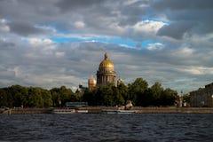 Άγιος-Πετρούπολη, Αγία Πετρούπολη, ST Isaac& x27 καθεδρικός ναός του s στοκ εικόνα