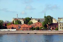Άγιος-Πετρούπολη, απόψεις πόλεων Στοκ φωτογραφία με δικαίωμα ελεύθερης χρήσης