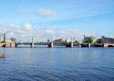 Άγιος-Πετρούπολη, απόψεις πόλεων Στοκ εικόνες με δικαίωμα ελεύθερης χρήσης