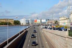 Άγιος-Πετρούπολη, απόψεις πόλεων Στοκ φωτογραφίες με δικαίωμα ελεύθερης χρήσης