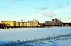Άγιος-Πετρούπολη, εικονική παράσταση πόλης Στοκ φωτογραφία με δικαίωμα ελεύθερης χρήσης