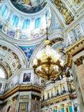 Άγιος Πετρούπολη, η εκκλησία Στοκ Φωτογραφία