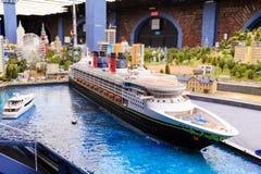 Άγιος Πετρούπολη, Ρωσία - 13 Μαΐου 2017: Τεμάχιο μεγάλο μεγάλο Maket Ρωσία Μεγάλο Maket Ρωσία το παγκόσμιο ` s μεγαλύτερο πρότυπο Στοκ Φωτογραφίες