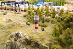 Άγιος Πετρούπολη, Ρωσία - 13 Μαΐου 2017: Τεμάχιο μεγάλο μεγάλο Maket Ρωσία Μεγάλο Maket Ρωσία το παγκόσμιο ` s μεγαλύτερο πρότυπο Στοκ εικόνες με δικαίωμα ελεύθερης χρήσης