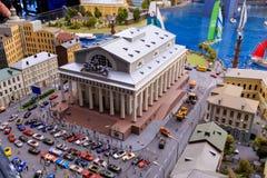 Άγιος Πετρούπολη, Ρωσία - 13 Μαΐου 2017: Τεμάχιο μεγάλο μεγάλο Maket Ρωσία Μεγάλο Maket Ρωσία το παγκόσμιο ` s μεγαλύτερο πρότυπο Στοκ Εικόνα