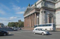 Άγιος Πετρούπολη, Ρωσία στις 12 Σεπτεμβρίου 2016: Καθεδρικός ναός του ST Isaac στη Αγία Πετρούπολη, Ρωσία Στοκ φωτογραφίες με δικαίωμα ελεύθερης χρήσης