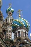 Άγιος-Πετρούπολη savior εκκλησιών αίματος Στοκ Εικόνα