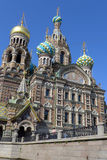 Άγιος-Πετρούπολη savior εκκλησιών αίματος Στοκ φωτογραφίες με δικαίωμα ελεύθερης χρήσης