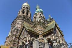 Άγιος-Πετρούπολη savior εκκλησιών αίματος Στοκ Φωτογραφία