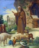 Άγιος Anthony ο μεγάλος απεικόνιση αποθεμάτων