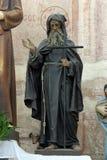 Άγιος Anthony ο μεγάλος Στοκ Φωτογραφία