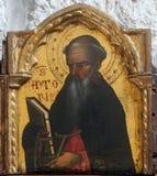 Άγιος Anthony ο μεγάλος Στοκ Εικόνα