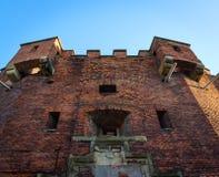 Άγιος Benedict Fort στην Κρακοβία στοκ εικόνα