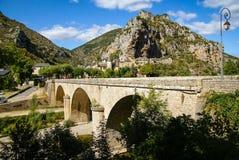 Άγιος Chely du φαράγγια του Tarn, Tarn, Γαλλία στοκ φωτογραφία με δικαίωμα ελεύθερης χρήσης