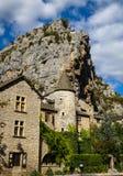 Άγιος Chely du φαράγγια του Tarn, Tarn, Γαλλία Στοκ φωτογραφίες με δικαίωμα ελεύθερης χρήσης