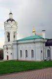 Άγιος George ο νικηφορόρος πύργος εκκλησιών και κουδουνιών Στοκ Εικόνα