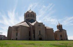 Άγιος Gregory ο καθεδρικός ναός φωτιστικών στοκ φωτογραφία