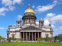 Άγιος Isaac Cathedral στη Αγία Πετρούπολη, Ρωσία στοκ φωτογραφίες με δικαίωμα ελεύθερης χρήσης