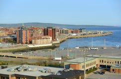 Άγιος John, Νιού Μπρούνγουικ, Καναδάς Στοκ εικόνα με δικαίωμα ελεύθερης χρήσης