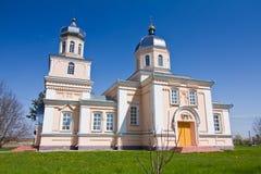 Άγιος John ο θεολόγος, John ο απόστολος, ρωσική Ορθόδοξη Εκκλησία σε Kynashiv, Ουκρανία, νότια πλευρά στον ήλιο στοκ εικόνες