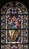 Άγιος Joseph με το παιδί Ιησούς στοκ φωτογραφία